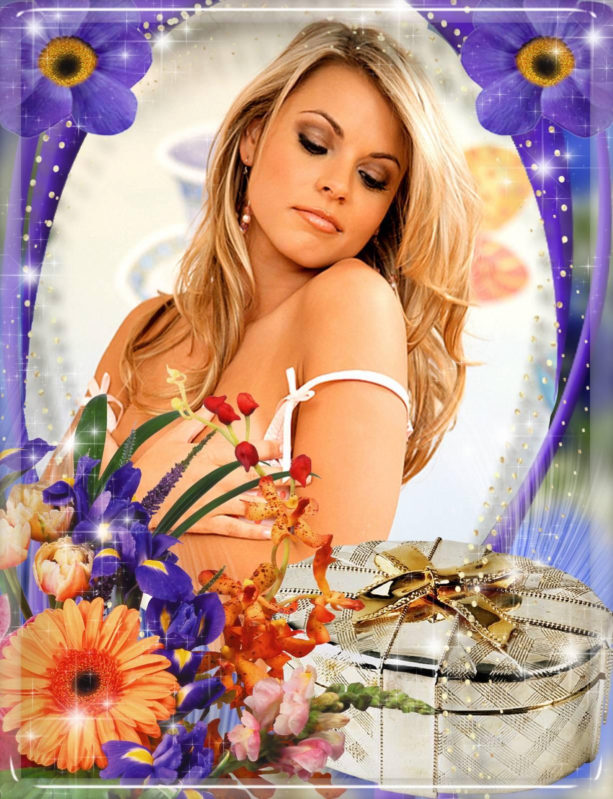 День блондинки красивые открытки